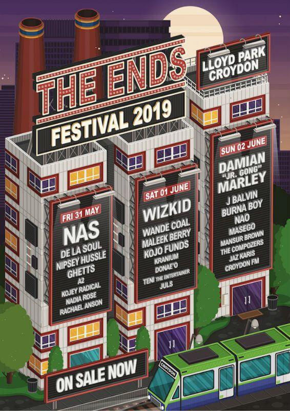 The Ends Festival 2019 Festival Uk Festivals Hip Hop Festival