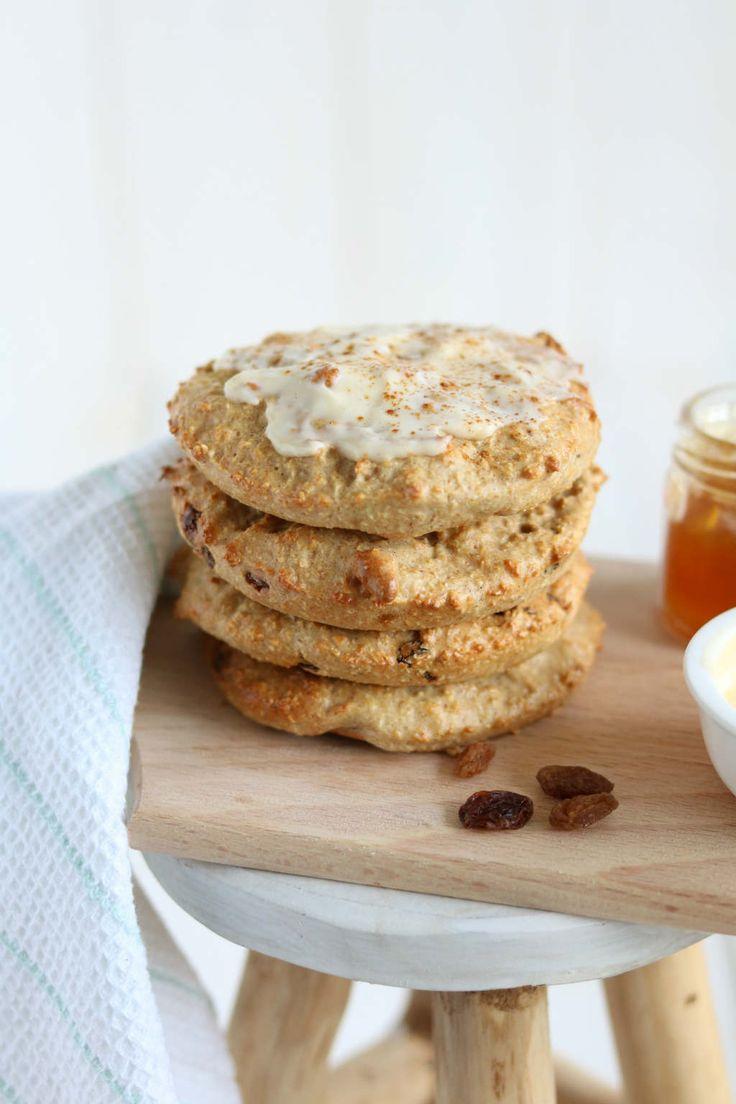 Zoete havermoutbroodjes met abrikozen crème. Echt zo'n fijn recept om te maken. #oats #havermout