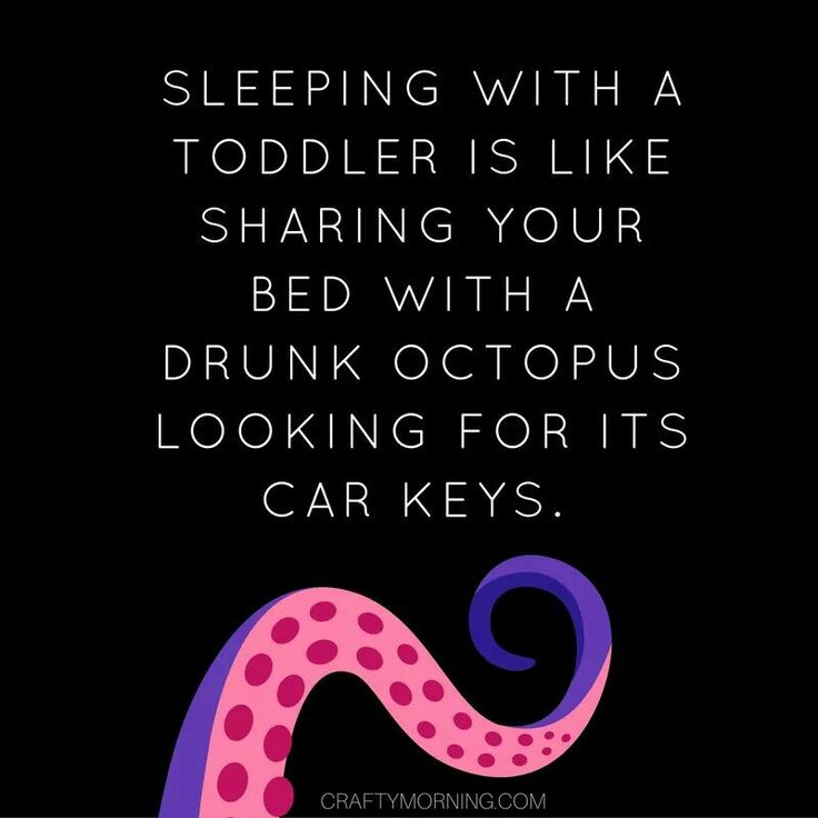 Sleeping With A Toddler Is Like Sharing Your Bed With A