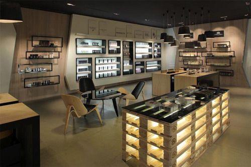 Design, concept et architecture de magasins et de boutiques Plus