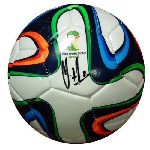 Clint Dempsey Autographed Signed Adidas World Cup Soccer Ball Usa - PSA/DNA Certified - Autographed Soccer Balls ** Click image to review more details.