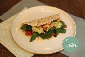 Foodblogswap: Mexicaanse Vis taco's met zalm - Taste our Joy!
