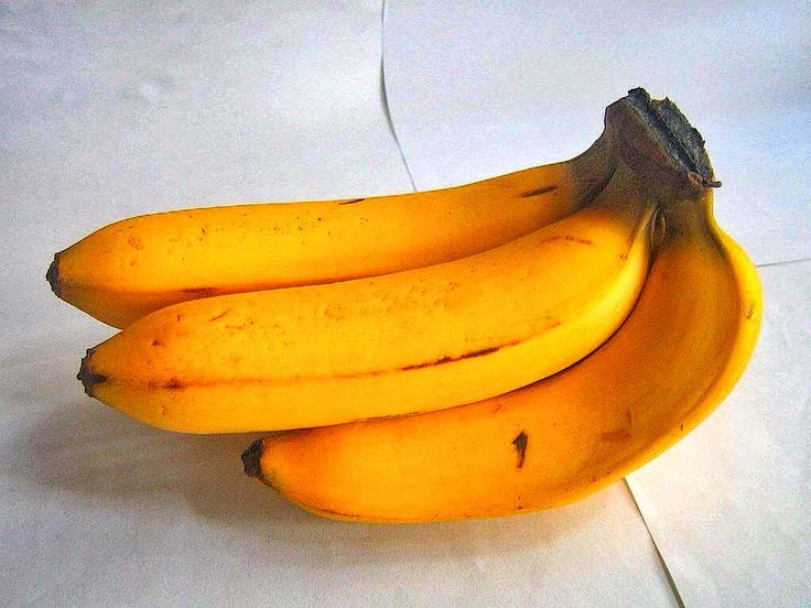 The Gros Michel banana , shorter in length than the Lacatan but just as delicious.