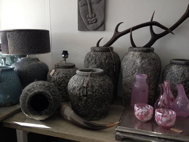 Brynxz stone serie & pink glaswerk van Fidrio