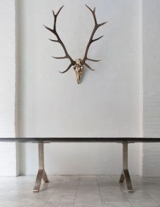 FURNITURE | BRONZE WISHBONE TABLE | BDDW