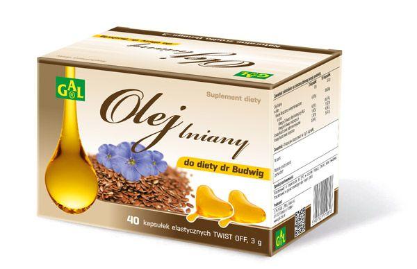OLEJ LNIANY DO DIETY DR BUDWIG // Zamknięcie oleju lnianego w kapsułce powoduje przedłużenie jego trwałości i zapobiega utlenianiu się cennych substancji odżywczych. Olej lniany powinien być stosowany wyłącznie na zimno – nie należy podgrzewać i smażyć na nim potraw, gdyż powoduje to utratę wartości odżywczych oleju. W diecie dr Budwig, zaleca się spożywanie 18 kapsułek w ciągu dnia, w postaci dodatku do około 125 g pasty twarogowo-jogurtowej. http://tiny.pl/qv2lb