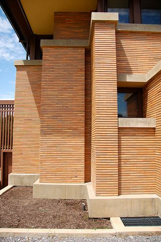 Darwin D. Martin House. Frank Lloyd Wright. 1903-5. Buffalo, New York. Prairie Style.