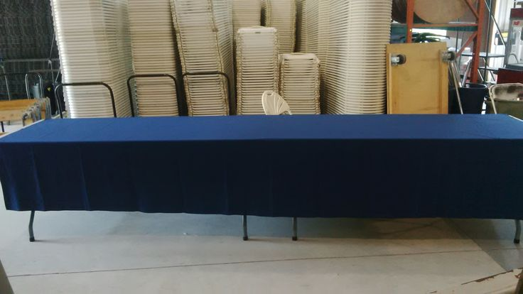 72x144 linen on two 6' tables