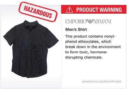 Armani shirt   #Detox #Fashion