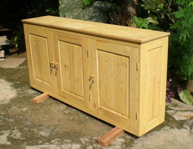 Perabot Kayu Sederhana / Simply Wood Furniture: Lemari Dinding / Wall Cabinet