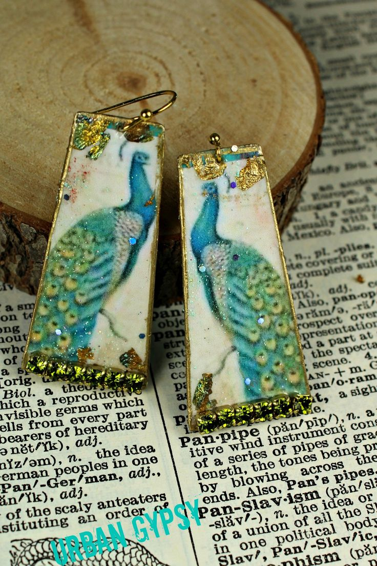 37 best nature images on pinterest burlap bags gypsy and pendant peacock earring nature inspired vintage print inspire dangle earring elegant chandelier earring by urbangypsyindy on etsy arubaitofo Images