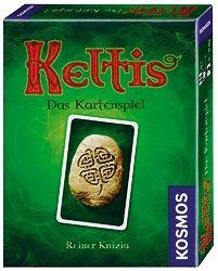 """J'ai vu rapidement Keltis - Das Kartenspiel, ça m'a l'air d'être assez fun à jouer et c'est surtout un jeu de cartes pas cher du tout... Il parait que c'est un """"Les Cités Perdues"""" like :)"""