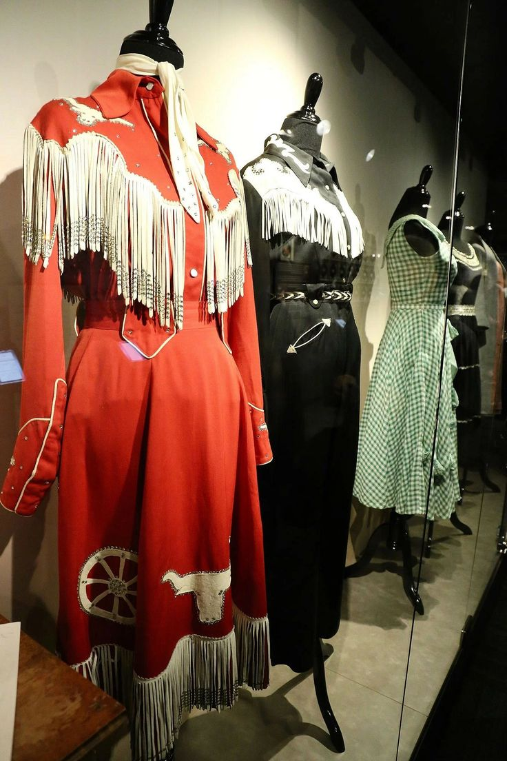 Patsy Clines Dresses on display at the new Patsy Cline museum in Nashville, TN.