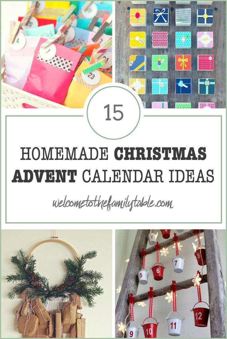 Homemade Calendar Ideas : Best homemade advent calendars ideas on pinterest