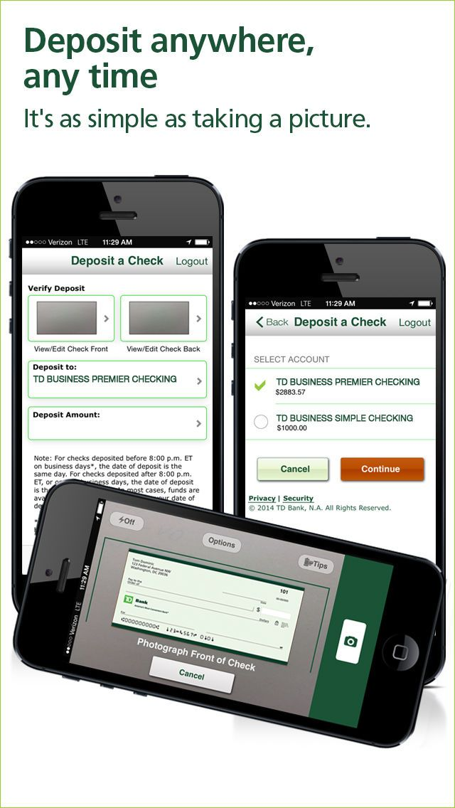 td business bank direct
