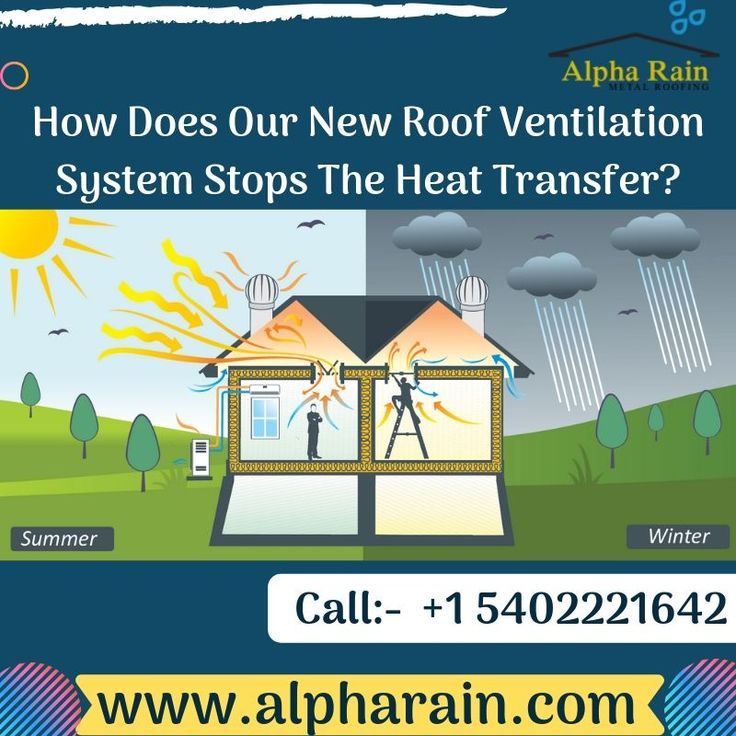 How To Get Rid Of The Heat from Your Roof with a