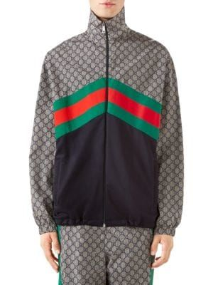 fabef588445 GUCCI Oversize Technical Jersey Jacket.  gucci  cloth