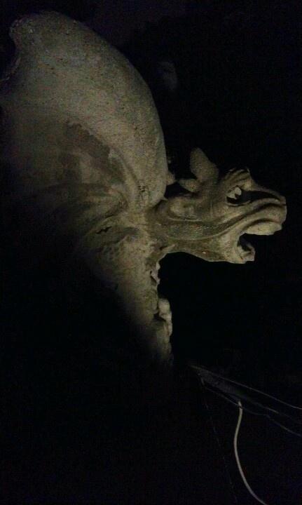Gargoyle at Waverly Hills Sanitorium