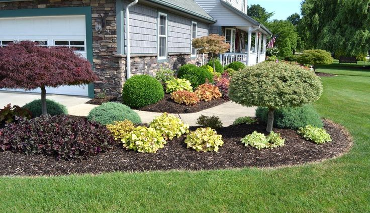 small gardens landscaping ideas midwest yard work on pinterest front yard landscaping front