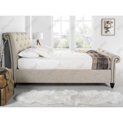 Home & Haus Tingha Upholstered Bed Frame & Reviews | Wayfair UK ...