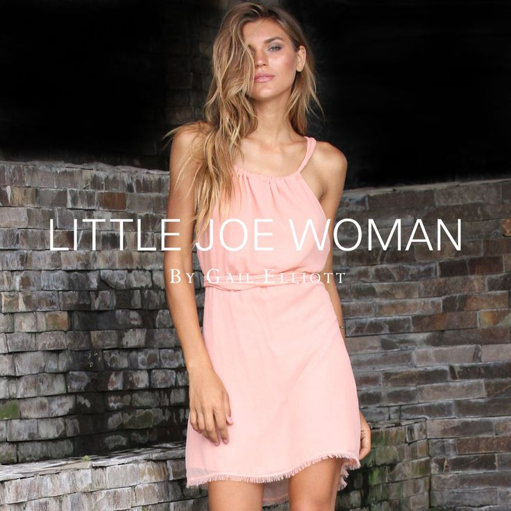 Sometimes all you need is a little pink backless dress || See You Soon in silk chiffon 💕 www.LittleJoeWoman.com