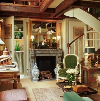 French cottage decorating | Alkemie: Jean-Louis Deniot - French Cottage Style in Paris