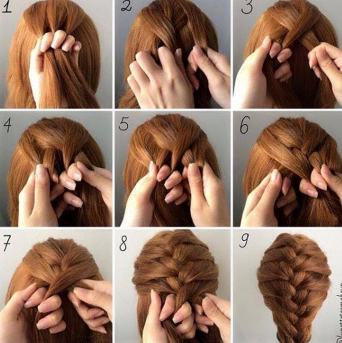 30 French Braids Hairstyles Step By Step How To French Braid Your Own Love Casual Style Braiding Your Own Hair Hair Styles French Braid Hairstyles