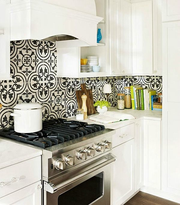 Cement Tiles add creative Artwork to a variety of spaces!  Check what's IN STOCK for Discounted Rates at Rustico Tile and Stone.  We ship globally! http://www.saltillotileconnection.com/cement-tile/