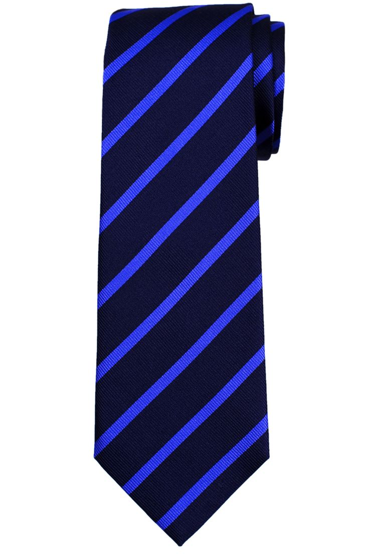 royal and navy blue tie