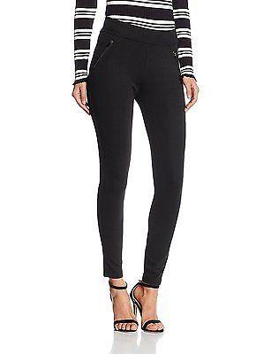 10, Black, New Look Women's Double Zip Leggings