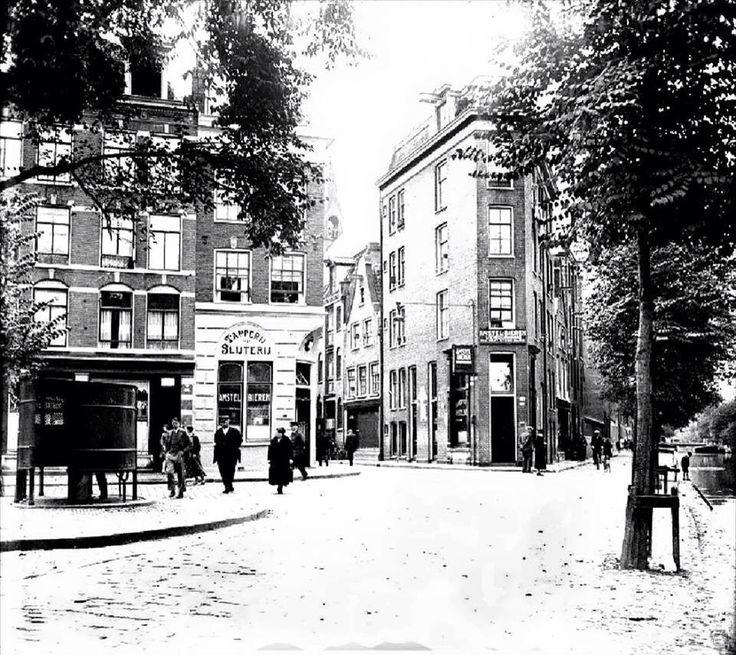 Amsterdam, Einde Lindengracht bij de Lijnbaansgracht