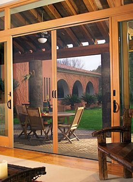 Retractable Door Screens For French, Entry, And Sliding Doors