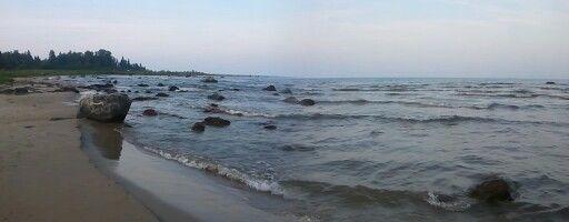 Lake Michigan Shoreline, Upper Peninsula, Michigan