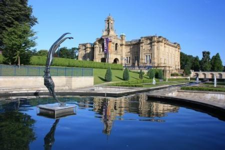 Mughal Gardens, Lister Park, Bradford, by Albert Freeman, of Bradford