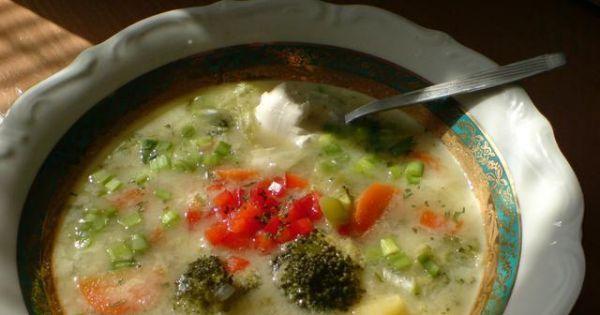 aksamitna zupa brokulowa