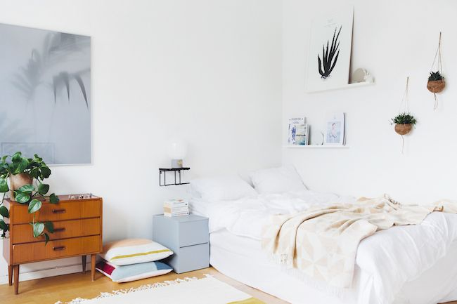Small space inspiration: a calm Stockholm pad
