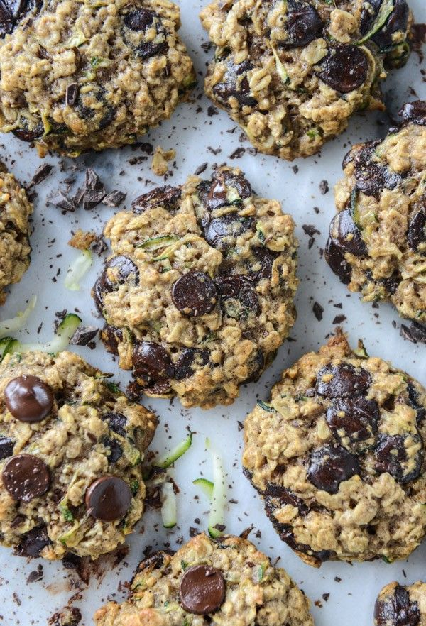 Zucchini Chocolate Chip Cookies | Best chocolate chip cookie recipes…