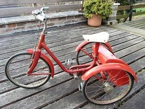 did you have a tricycle?