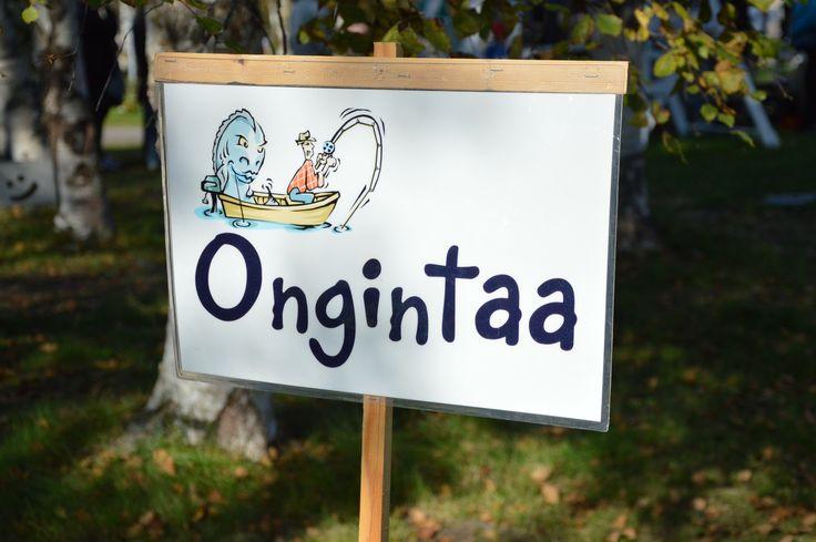 Mitähän kivoja yllätyksiä onkeen tarttuukaan? Luuppi, Oulu (Finland)