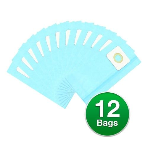 Replacement Vacuum Bag for Riccar 8650 Commercial Upright Vacuum (Micro) 2 Pack