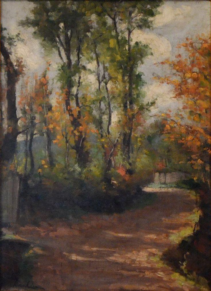 Stefan Luchian - Peisaj (ulei/pânză) - Muzeul de Artă Iași
