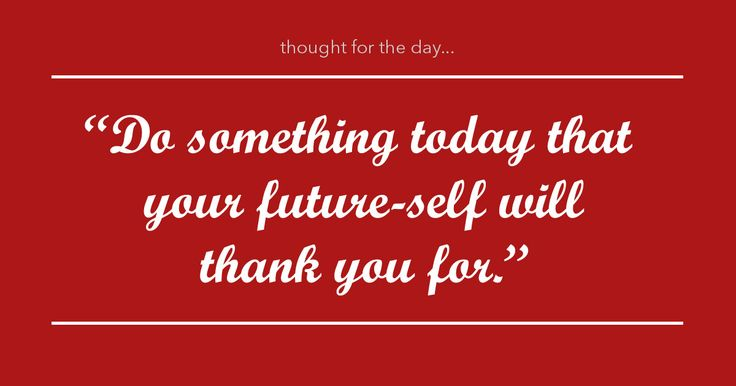 """'Do something today that your future-self will thank you for!"""" #ProAuction #Auctioneers #ThoughtofTheDay"""