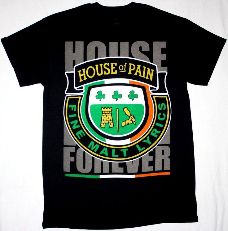 >> Click to Buy << HOUSE OF PAIN FOREVER FINE MALT LYRICS DJ LETHAL NEW BLACK T-SHIRT Summer T-Shirt Brand Fitness Body Building #Affiliate