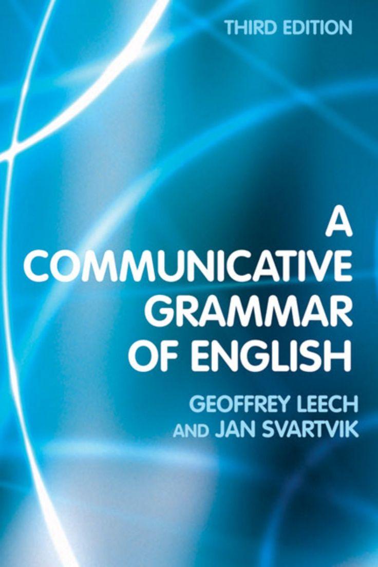 A communicative grammar of english third edition by Taoufik Radi via slideshare