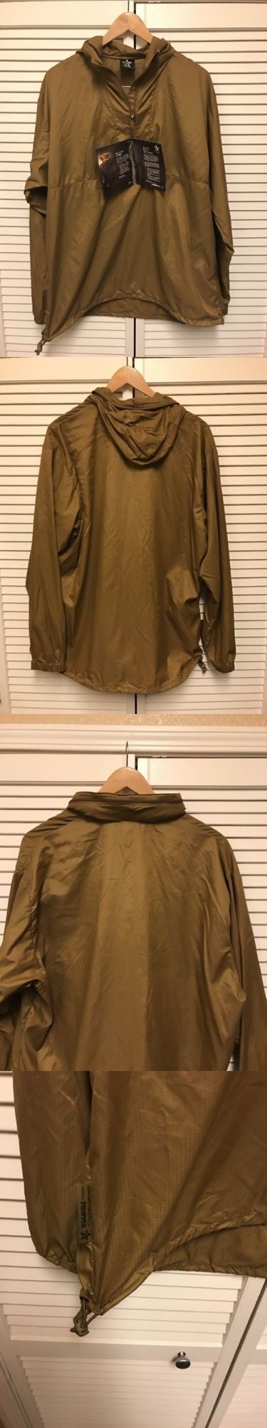 Coats and Jackets 181358: Propper Adventure Tech Mens Lightweight Jacket Size Large Gold Brown Water Repel BUY IT NOW ONLY: $50.0
