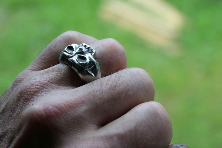 Ring from a stainless hex nut @dremel 4000