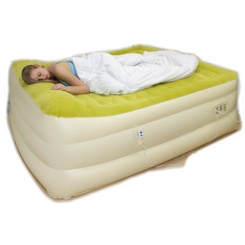 aircloud majestic auto inflate king size air bed furniture walmartcom