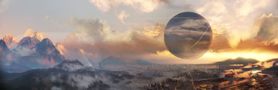 Destiny: City sky