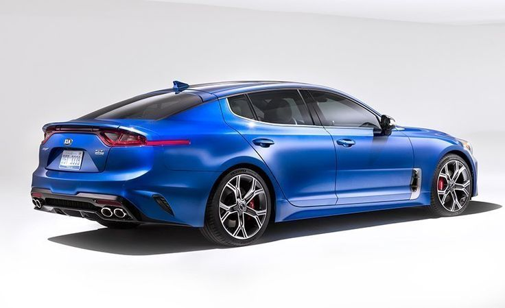 Kia's new Stinger will be rear-wheel drive with up to 365 horsepower—get full details at Car and Driver.