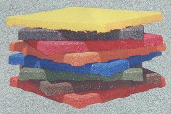 Pavimentos antica das compuestos por baldosas de goma de - Baldosas de goma ...